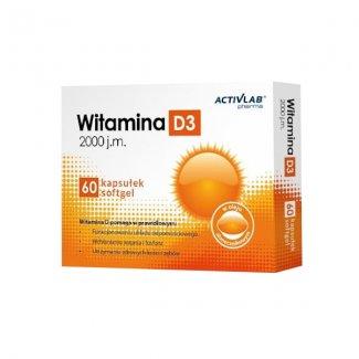 VITAMIN D3 2000mg 60softgels (ACTIVLAB)