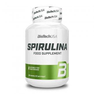 Spirulina 100 Tabs (BIOTECH USA)
