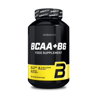 BCAA+B6 200tabs (BIOTECH USA)