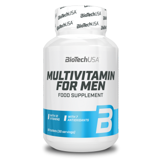 Multivitamin for Men 60tabs (BIOTECH USA)