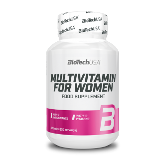 Multivitamin for Woman 60tabs (BIOTECH USA)