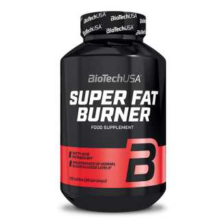 SUPER FAT BURNER 120tabs (BIOTECH USA)