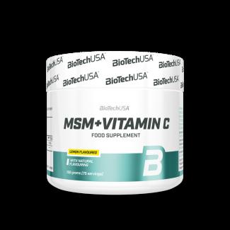 MSM + Vitamin C 150gr (BIOTECH USA)