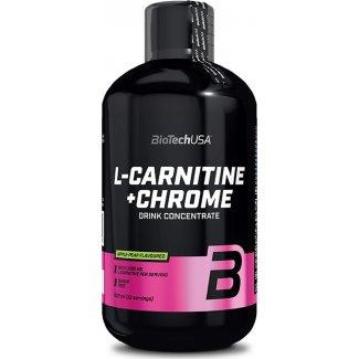 L-Carnitine + Chrome 35000mg 500ml (BIOTECH USA)