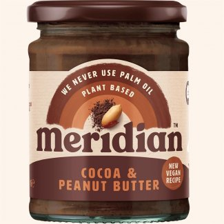 COCOA AND PEANUT BUTTER 280gr (MERIDIAN FOODS)