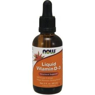 Liquid Vitamin D3 60ml (NOW FOODS)