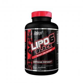 LIPO 6 BLACK 120 liquid caps (NUTREX)
