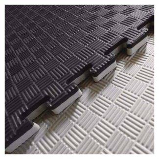 VIKING Δάπεδο Ασφαλείας EVA, 50 X 50 X 2,5 εκ. Puzzle (Μαύρο/Γκρι)