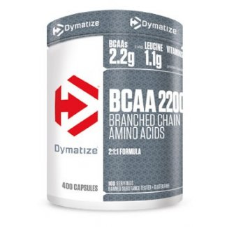 BCAA 2200 400caps (DYMATIZE)