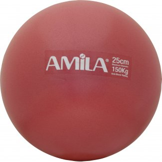 Μπάλα Pilates 25cm, Κόκκινη, σε κουτί