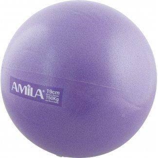 Μπάλα Pilates 19cm, Μωβ, bulk