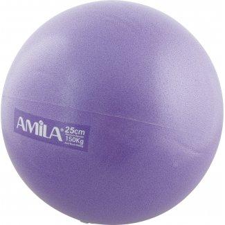Μπάλα Pilates, 25cm, Μωβ, bulk