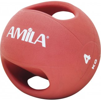 Amila Dual Handle Medicine Ball 4Kg